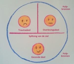 Verliestrauma - splitsing vsn de ziel -gecompliceerde rouw - overleven na verlies